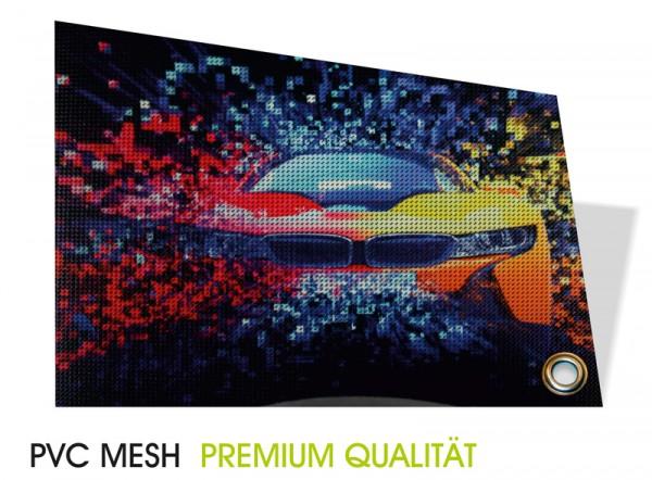 Mesh-Bannner 4/0-farbig bedruckt,