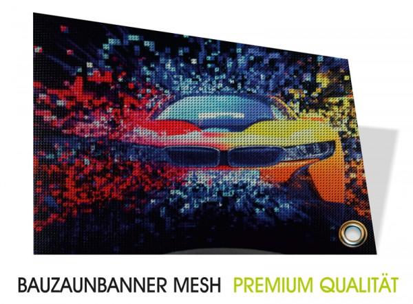 Bauzaunbanner Mesh Premium Qualität